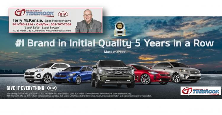 Terry McKenzie at Timbrook Kia for Your Vehicle Needs!