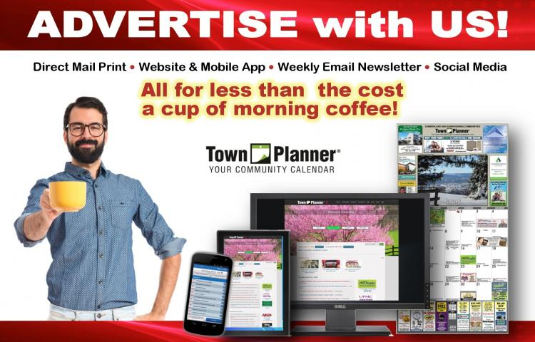 ADVERTISE WITH US; Print & Digital!