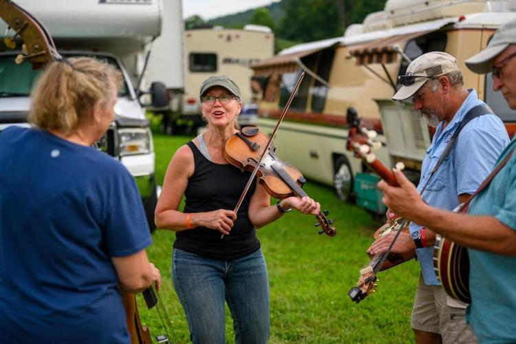 Pickin' in Parsons Bluegrass Festival, Aug 4-8