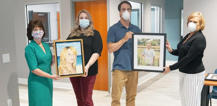 Local artwork to adorn walls at Center for Hope and Healing