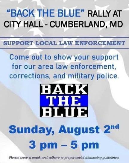 Support the Blue