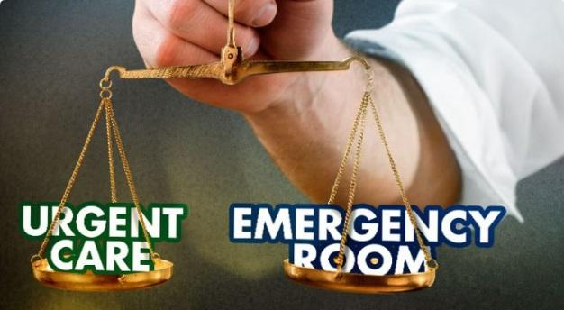Difference Between Emergency Room and Urgent Care