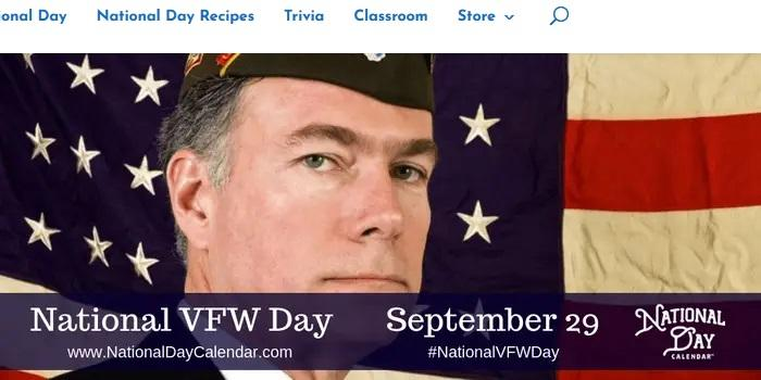 National VFW Day