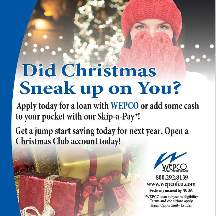 Apply for a loan at WEPCO!