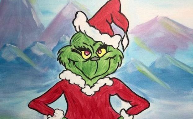 The Grinch Free Virtual Painting