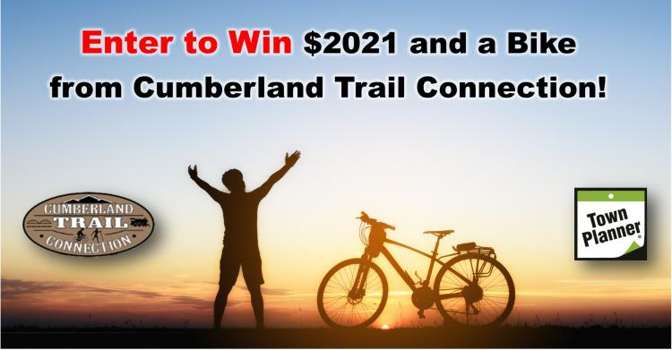 Enter to Win $2021, a bike from Cumberland Trail Connection