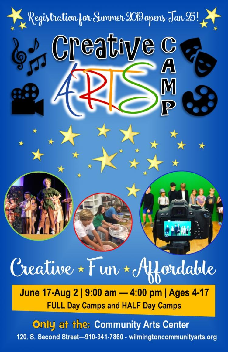 BOSS Camp Session 2 - Creative Arts Camp