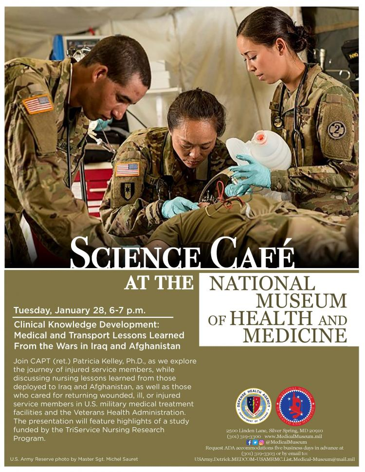 Medical Museum Science Café: Clinical Knowledge Development - Medical and Trans
