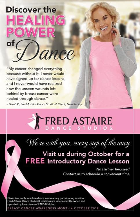 Free Lesson for Breast Cancer Awareness Month!