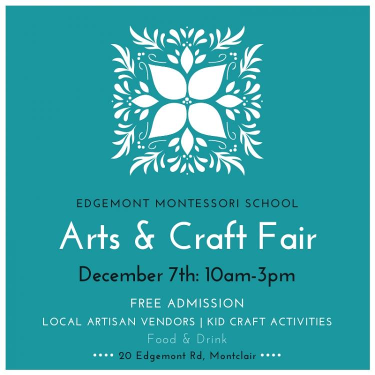 Edgemont Montessori School Arts & Craft Fair