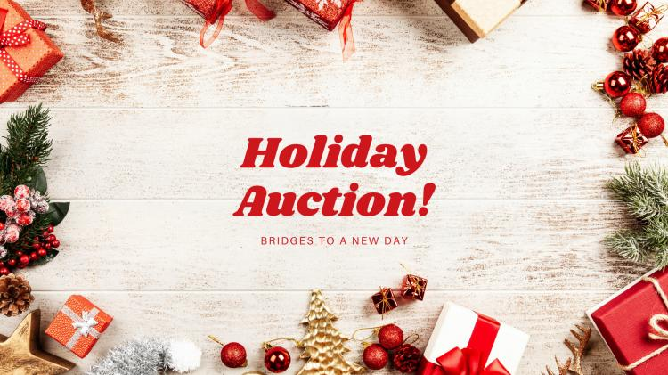 Holiday Auction Fundraiser!
