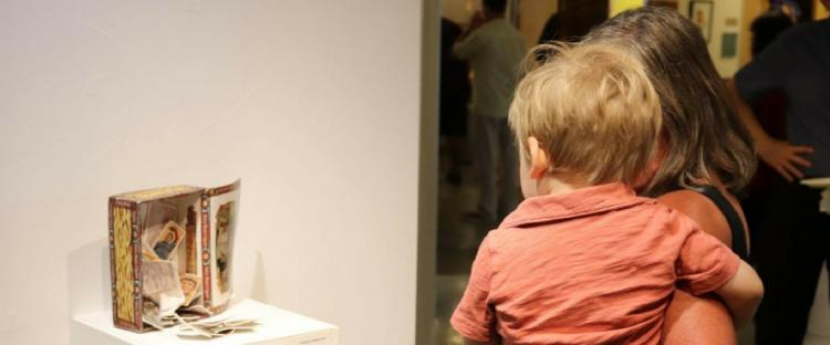 Baby & Me in the Gallery