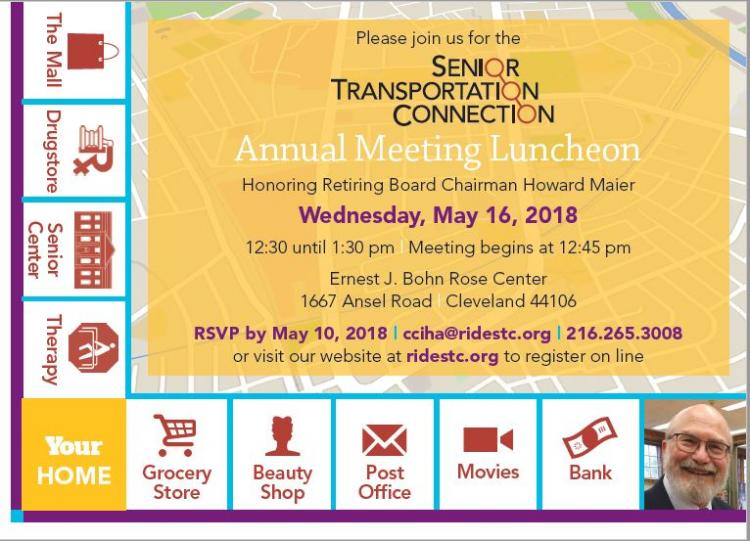 Senior Transportation Annual Meeting
