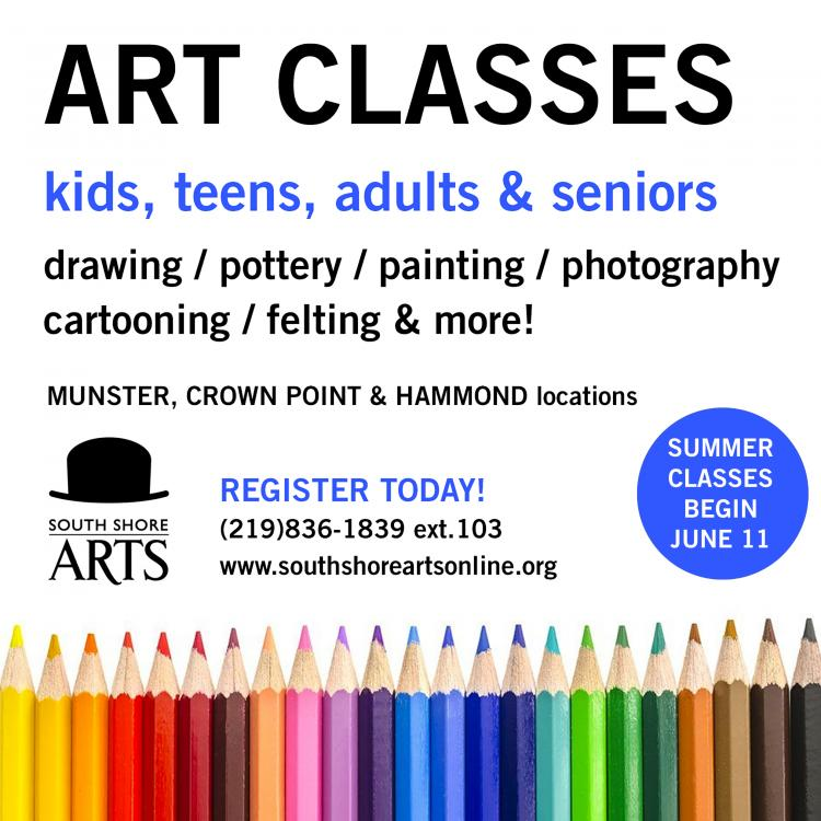 SUMMER ART CLASSES, CAMPS & WORKSHOPS: South Shore Arts / Kids, Adults & Seniors