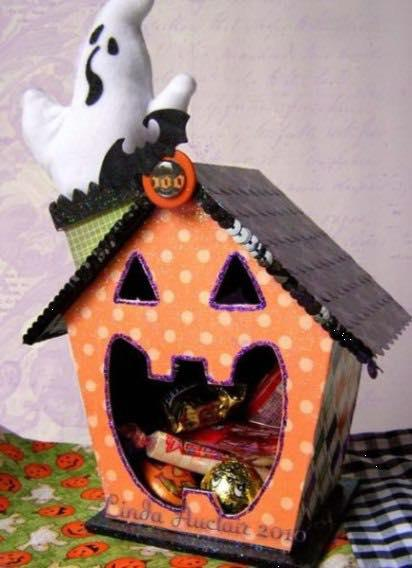 Halloween Candy Dispensers (Ages 6-13)
