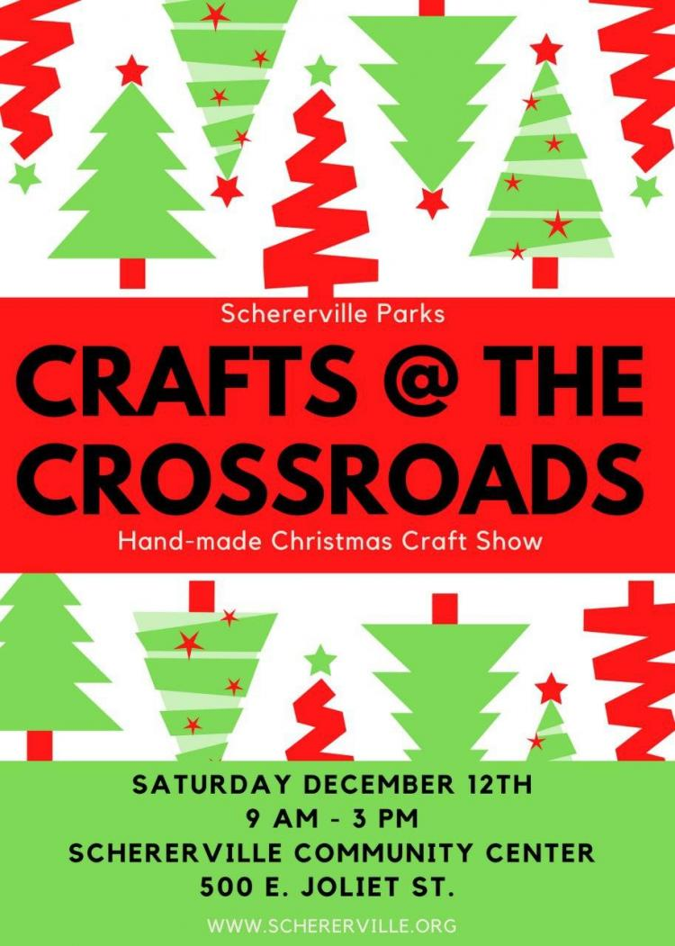 Crafts at the Crossroads Hand-made Christmas Craft Show - CANCELED