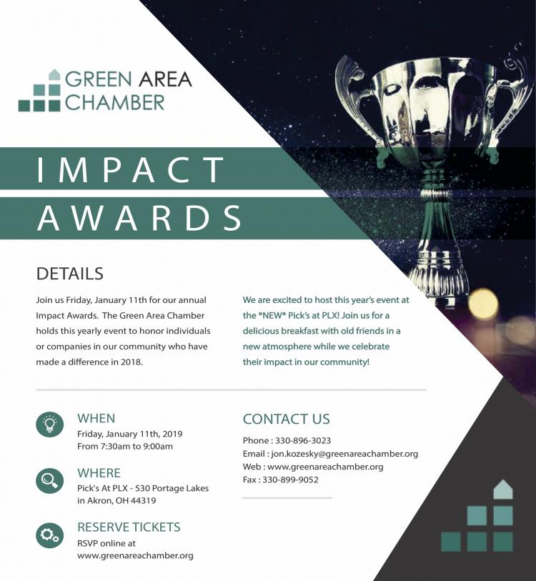 Green Area Chamber Impact Awards
