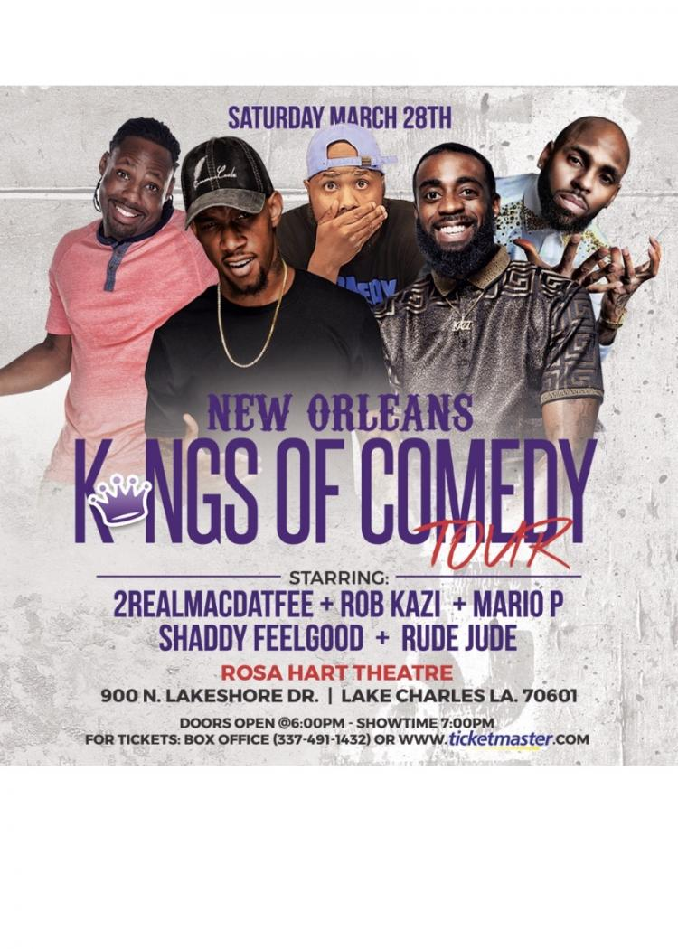 New Orleans Kings of Comedy Tour