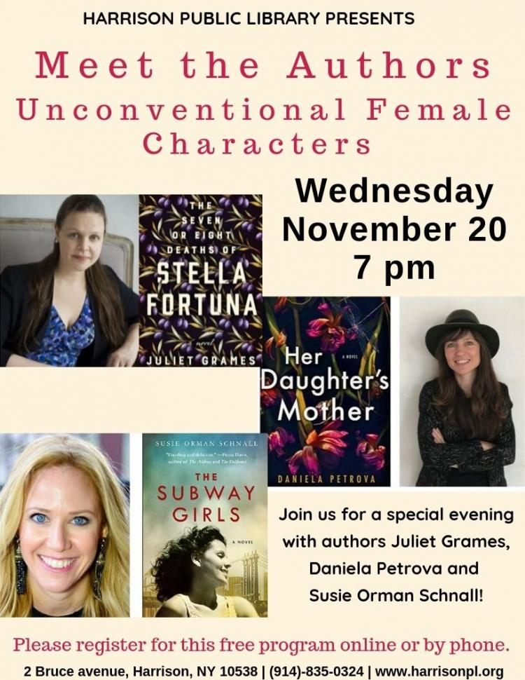 Meet the Authors of Unconventional Female Characters