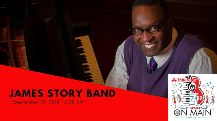 3rd Thursday On Main - The James Story Band