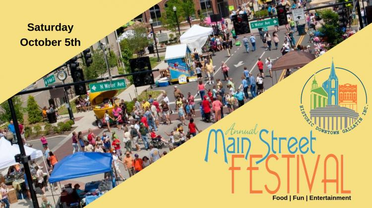 Main Street Festival in Downtown Gallatin