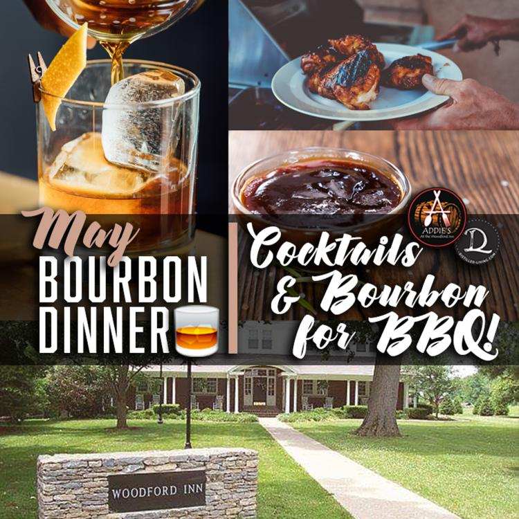 Cocktails & Bourbon for BBQ! May Bourbon Dinner at Addie's
